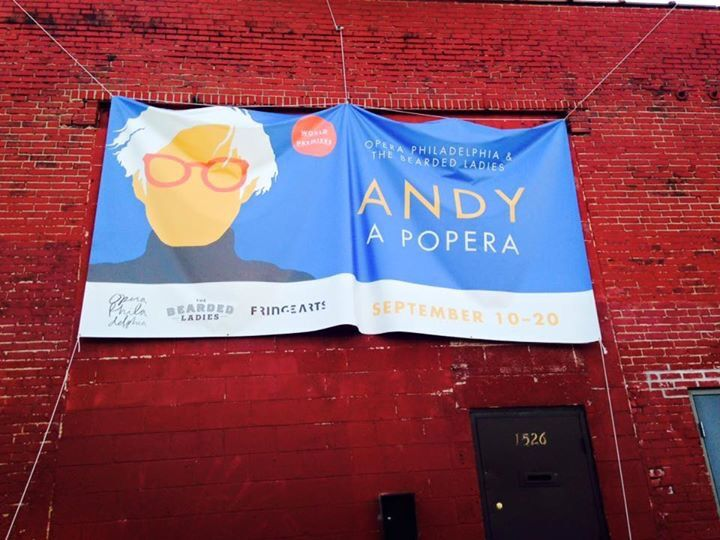 "Dan creates ""ANDY: A POPera"" a collaboration with Opera Philadelphia and The Bearded Ladies"